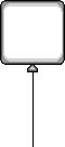 ET White Balloon