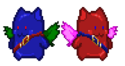 Gemmie and Naiya (without smaller sprites)