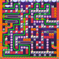 Swapping maze TSF's ansver