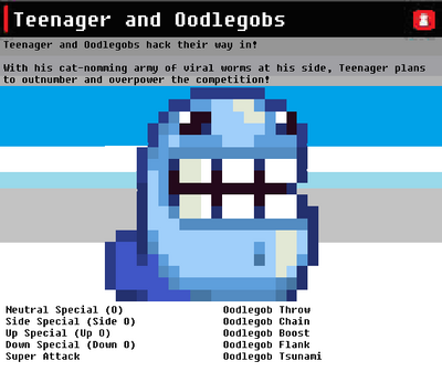 SSN Teenager and Oodlegobs