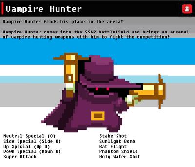 SSN Vampire Hunter