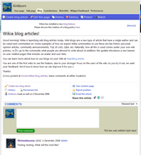 Wikia blog articles 1