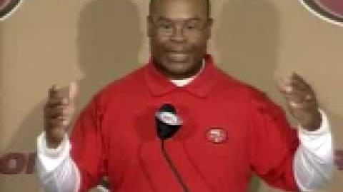Mike Singletary's first press conference as 49ers Head Coach