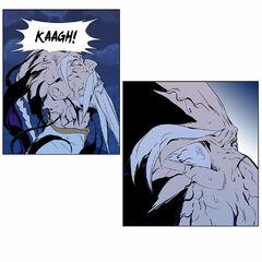 The Dark Spear devours the 9th Elder him fully.