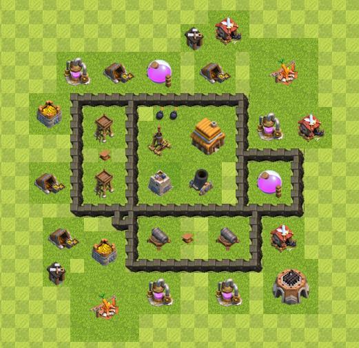 TH4 War Base