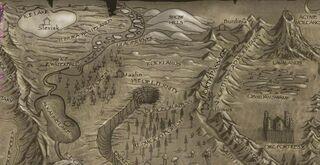 Rocklands-Map