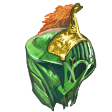 Emerald Dragon Headplate