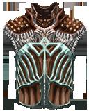 Vampire Boned Blood Leather Vest