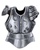 Tin Practice Breastplate