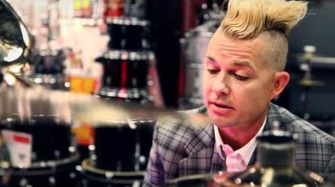 Adrian Young (No Doubt) At Guitar Center