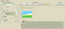 Layout builder formatting tool