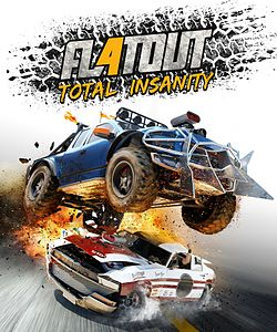 FlatOut 4 Total Insanity Coverart