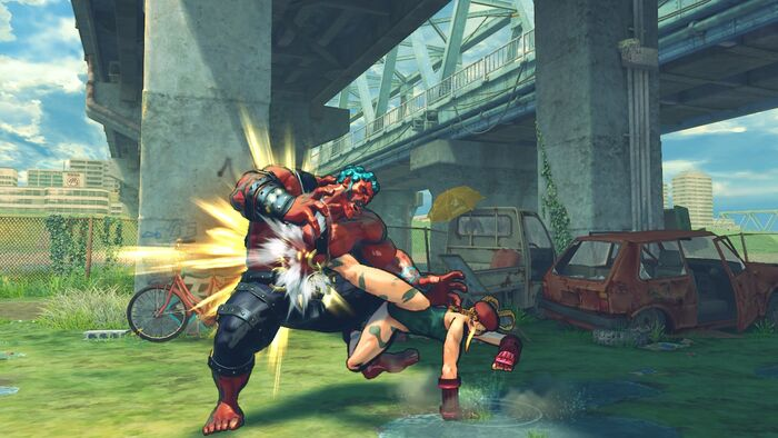 Street Fighter IV No Hud