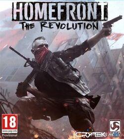 Homefront, The Revolution logo