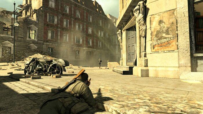 Sniper Elite V2 No Hud