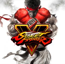 Street Fighter V box artwork