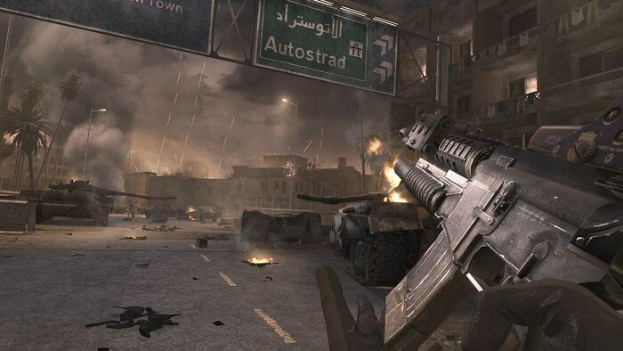 Call of Duty- Modern Warfare No Hud