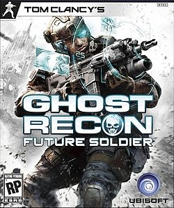 Tom Clancy Ghost Recon Future Soldier Game Cover