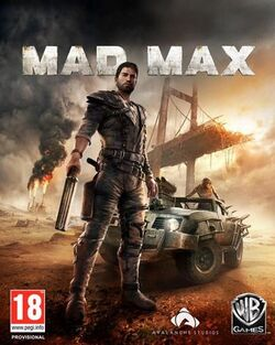 Mad Max 2015 video game cover art