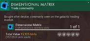 Dimensional Matrix desc