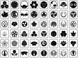 Japanese-crests