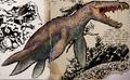 Liopleurodon magicus
