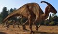 Parasaurolophus Jurassic Park