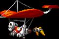 Skeleton Hang Glider