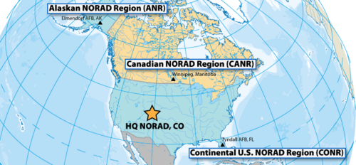 NORAD Area of Operations