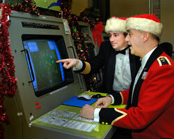 NORAD - Canada - Santa Radar Tracking Dec 2007.jpg