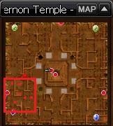 Fernon temple -1 map Kenko Swordsman