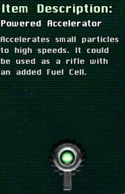 Powered Accelerator
