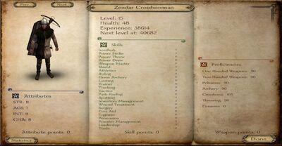 Zendar Crossbowman