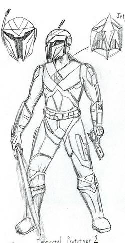 Xerxes sketch by Justin Stebbins