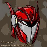 Portrait mantis helmet