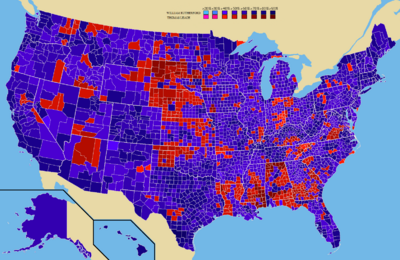 2064, Election Results by County