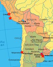 South-america-map