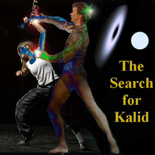 Kalid cover with title