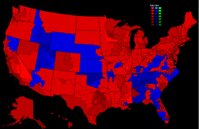 2072 Election Results by Congressional District
