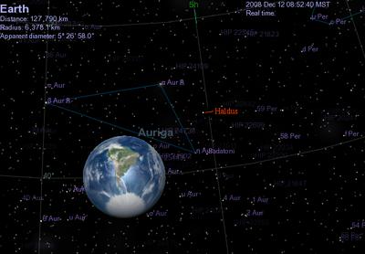 Haldus from Earth
