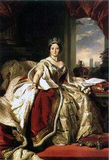 Victoria's Coronation Robe