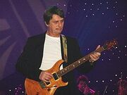 Mike Oldfield playing