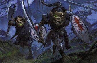 Bile Spider Goblins