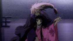 Nurarihyon holding Yōhime