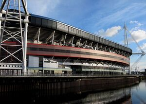 Millennium Stadium Reflected