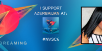 Azerbaijan in the North Vision Song Contest 6