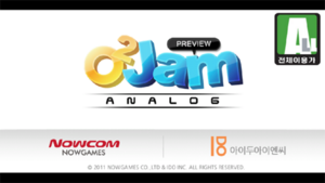 O2Jam Analog Logo