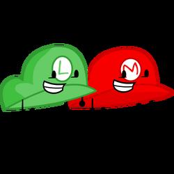 Mario and Luigi Hat