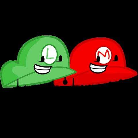 File:Mario and Luigi Hat.png