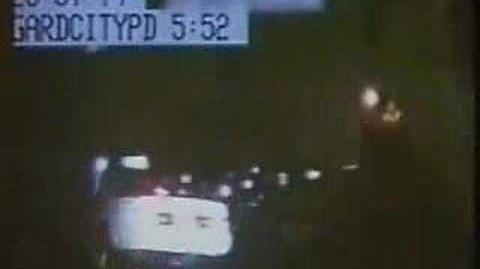 Ghost Car Disappears During Police Chase